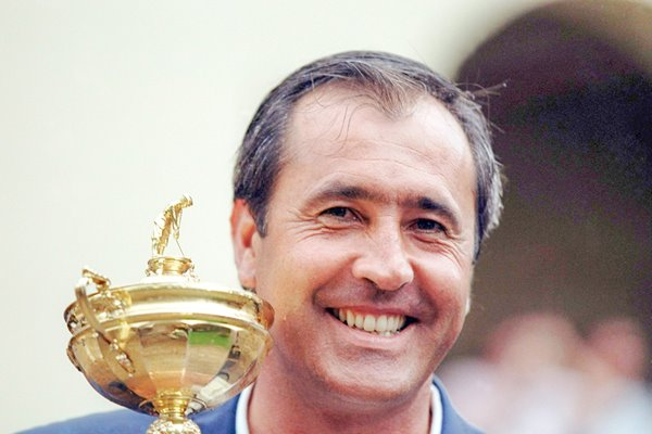 European captain Seve Ballesteros