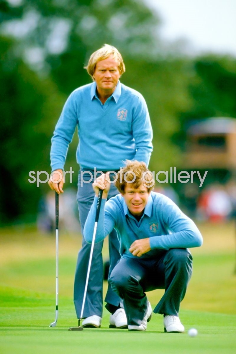 Jack Nicklaus and Tom Watson Ryder Cup 1981