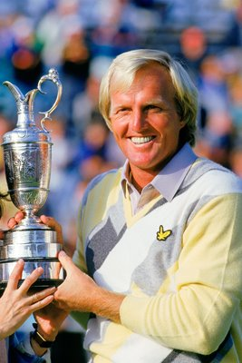 Greg Norman Open Champion Turnberry 1986