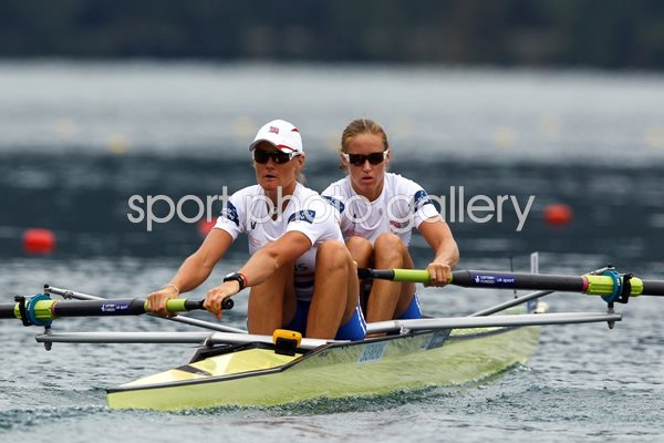 Helen Glover and Heather Stanning Worlds 2011