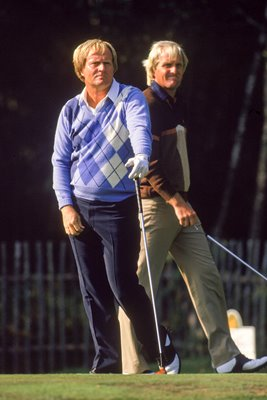 Nicklaus & Norman World Match Play 1986