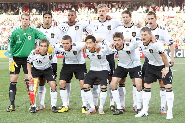 Germany Team v England World Cup 2010