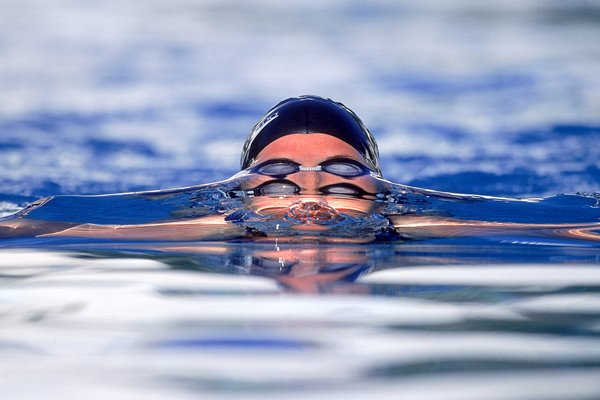 Swimmer resurfaces