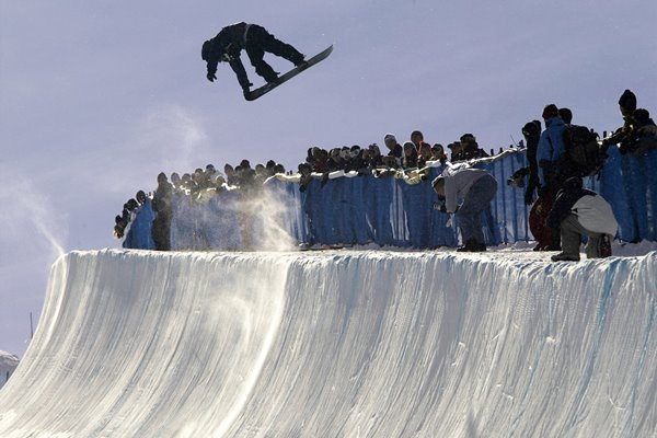 Stephen Myers Half Pipe 2002