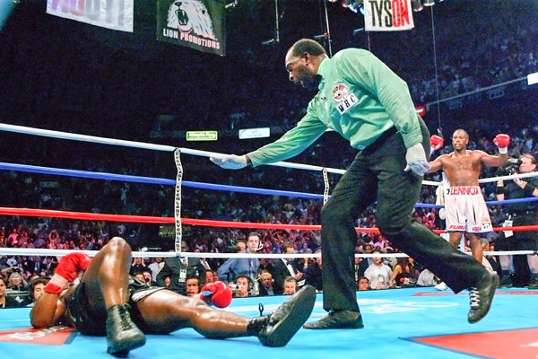 Mike Tyson Counted Out