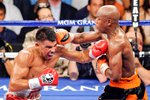Floyd Mayweather Jr. v Victor Ortiz 2011 Wall Sticker