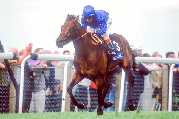 Dubai Millenium and Jerry Bailey
