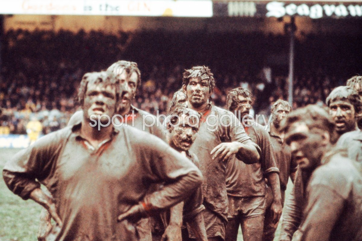 Fran Cotton British Lions in New Zealand 1977