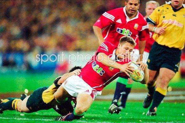 Jonny Wilkinson British Lions Scores V Australia Melbourne