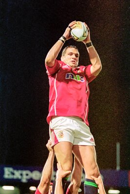 Martin Johnson British Lions v Queensland Reds Brisbane 2001