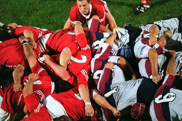 Rob Howley British Lions v Queensland Scrum Brisbane 2001