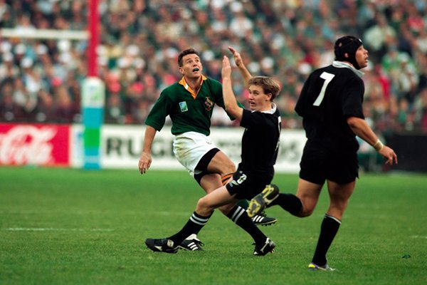 Joel Stransky 1995 World Cup winning Drop Goal
