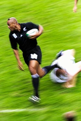 Jonah Lomu New Zealand v England 1999