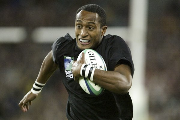 Joe Rokocoko of New Zealand in action