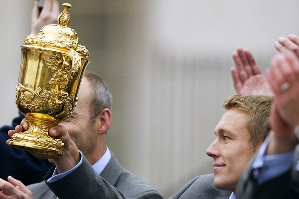 Jonny Wilkinson RWC Team Victory Parade