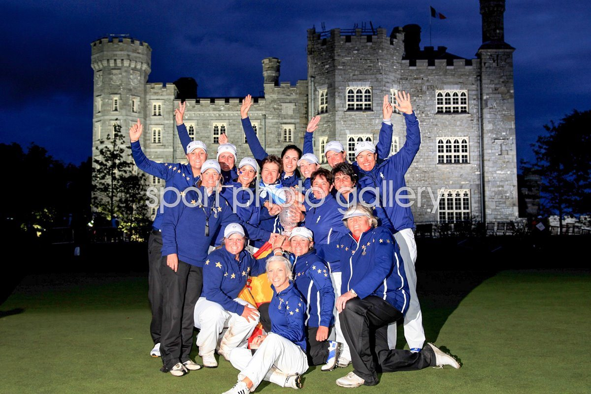Solheim Cup 2011 Europe Winners