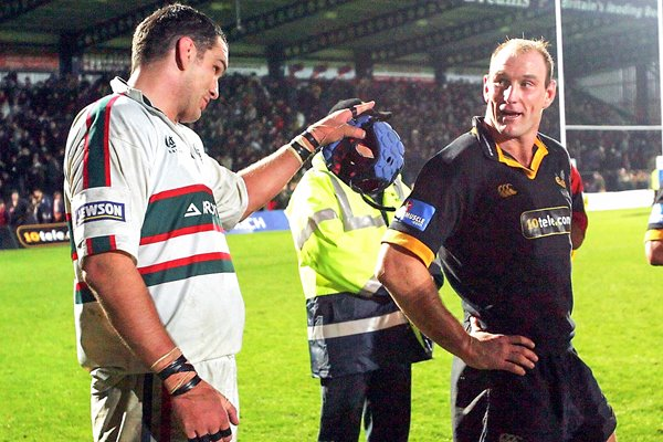 Martin Johnson and Lawrence Dallaglio