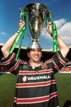 Martin Johnson with the Heineken Cup  Prints