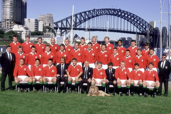 British Lions Victorious Australian Touring Squad 1989