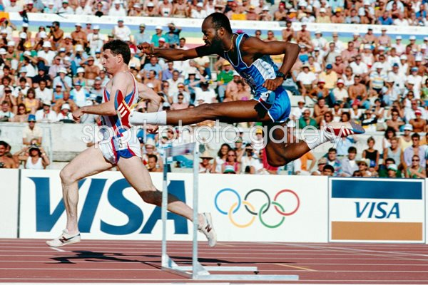 Ed Moses World Champion 400m hurdles 1987