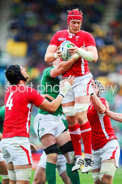 Alun Wyn Jones Wales v Ireland 1/4 Final