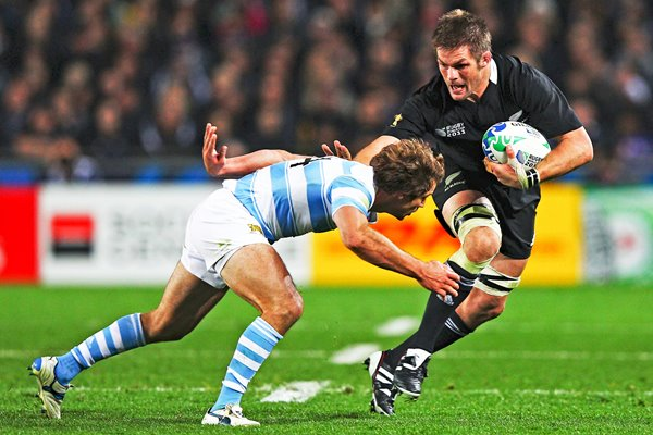 Richie McCaw New Zealand v Argentina 1/4 Final