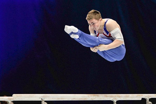 Sam Oldham Gymnastics World Championships 2011