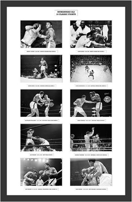 NEW - Muhammad Ali 10 Classic Fights Special