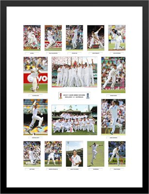2010/11 England Ashes Team Special