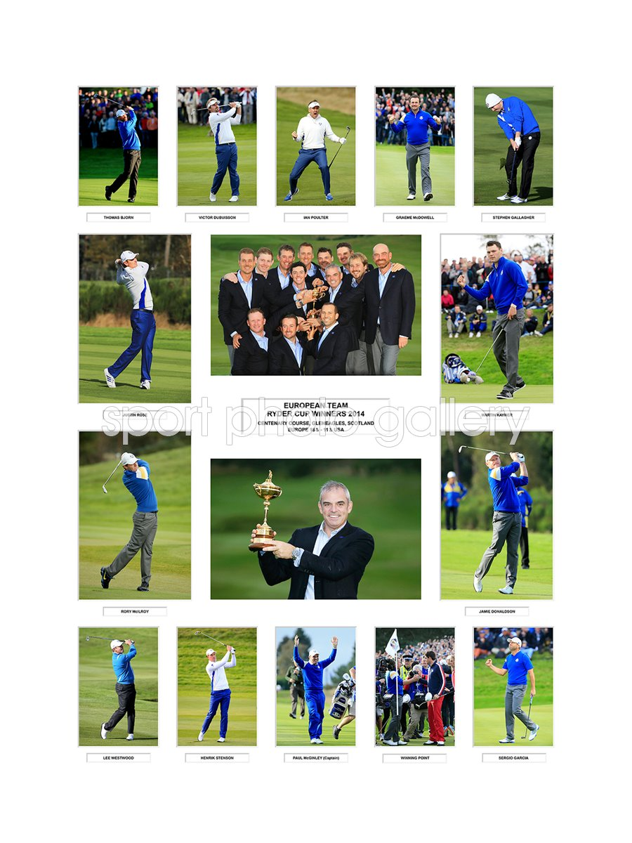 2014 Europe Ryder Cup Winners Team Special