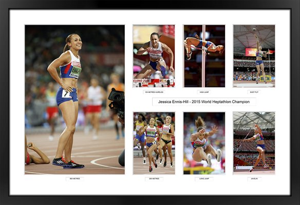 Jessica Ennis-Hill 2015 World Heptathlon Special