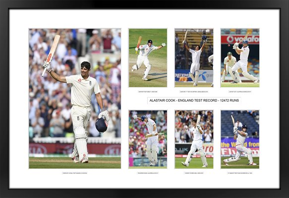 Alastair Cook 10,000 Test Runs Special