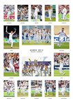 2013 England Ashes Winners Team Special Prints
