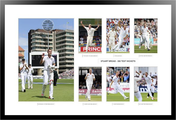 Stuart Broad 300 Test Wickets Special