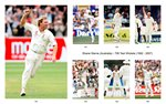 Shane Warne Test Career Special Canvas