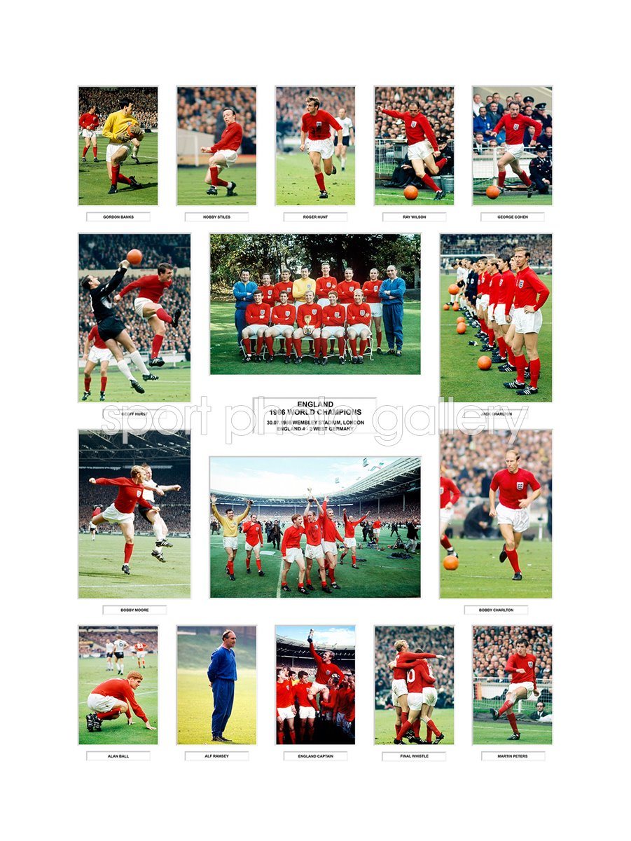 1966 World Cup England Team Special