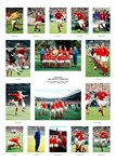 1966 World Cup England Team Special Prints