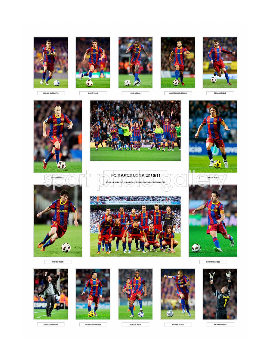 Barcelona 2010/11 La Liga Winners Team Special