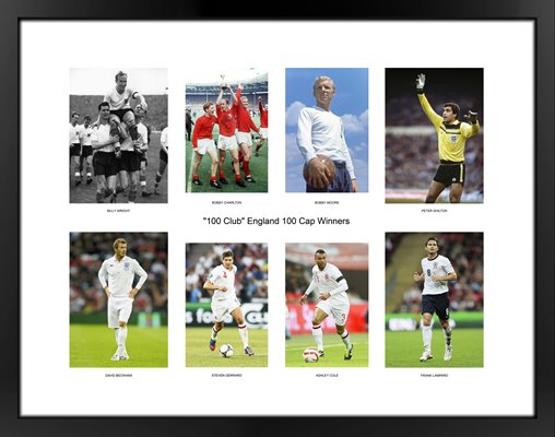 """100 Club"" England 100 Cap Winners (Updated with Wayne Rooney)"