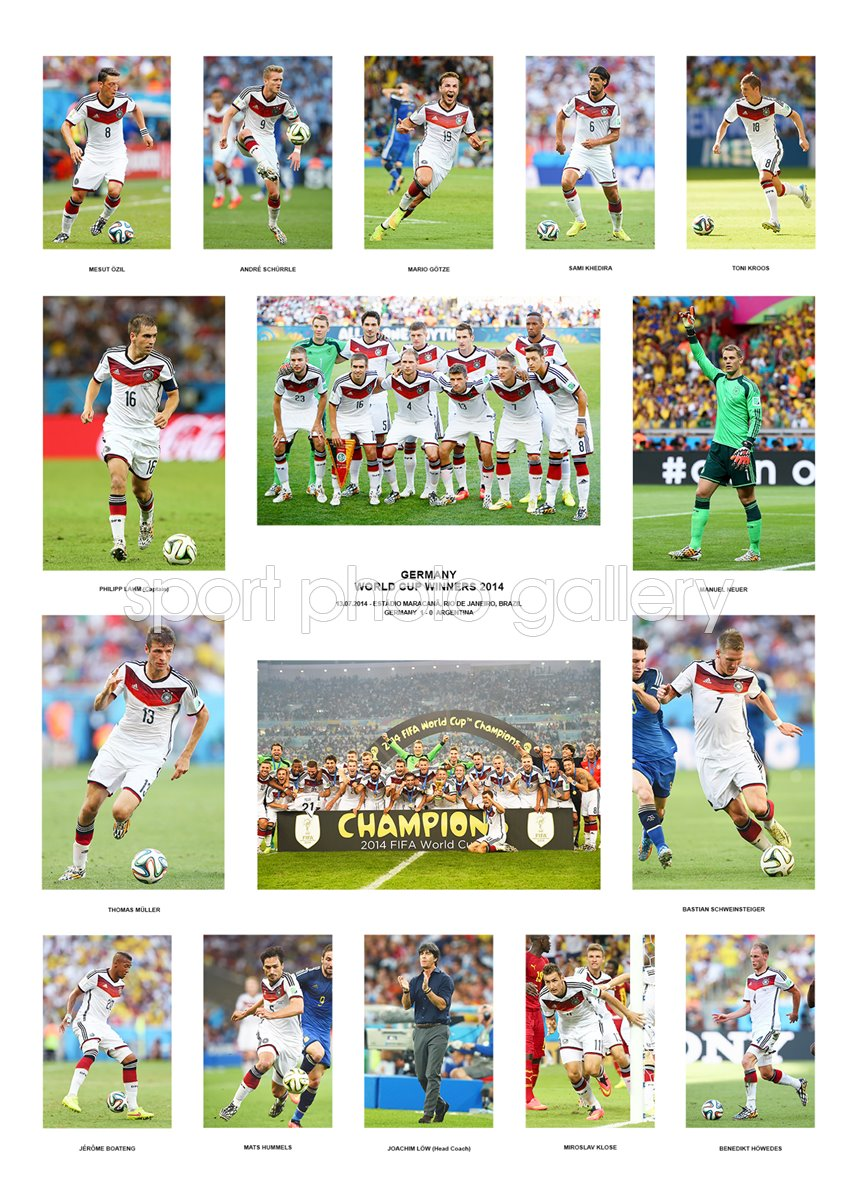 Germany World Cup Final 2014 Champions POSTER