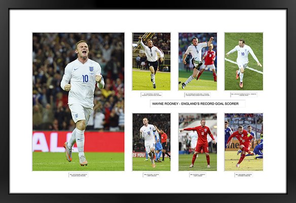 50 Goals Wayne Rooney England Record Special