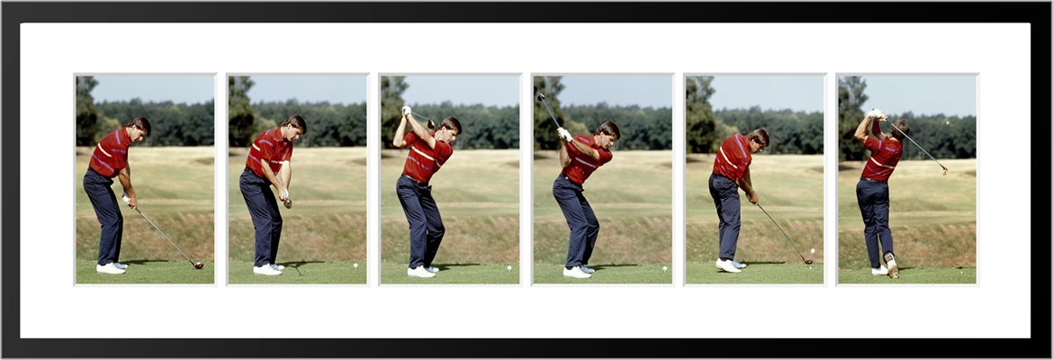Nick Faldo 6 Stage Swing Sequence 1989
