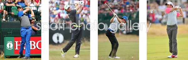 2014 RORY MCILROY OPEN CHAMPION ROYAL LIVERPOOL HOYLAKE