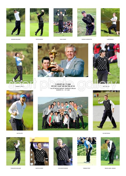 2010 Europe Ryder Cup Winning Team Special