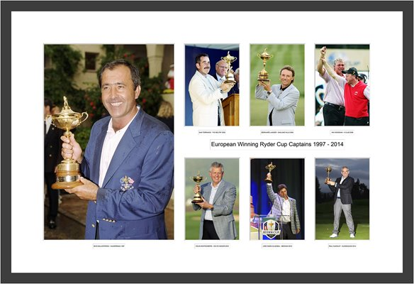 "1997-2014 ""Seve to Scotland"" European Ryder Cup Captains"