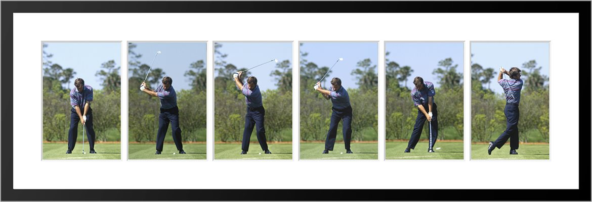 Nick Faldo 6 Stage Swing Sequence