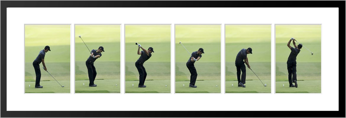 Charl Schwartzel 6 Stage Swing Sequence