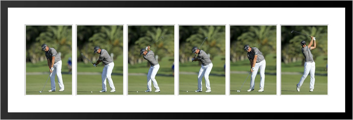 Henrik Stenson 6 Stage Swing Sequence 2015