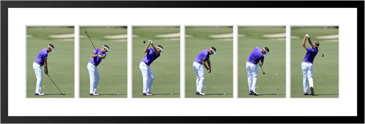 Ian Poulter 6 Stage Swing Sequence 2015