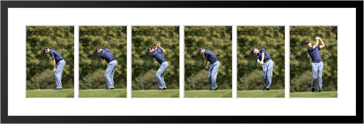 JIM FURYK 6 STAGE SWING SEQUENCE